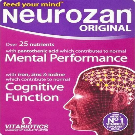 Picture of Vitabiotics Neurozan Original - 30 Tablets