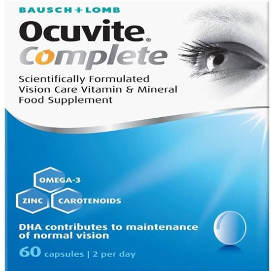 Picture of Ocuvite Eye Supplement Complete 60 Capsules