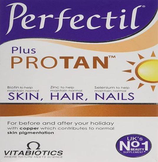 Picture of Vitabiotics Perfectil Plus Protan - 60 Tablets