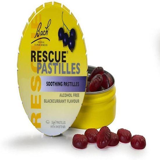 Picture of Rescue Pastilles Blackcurrant 50g