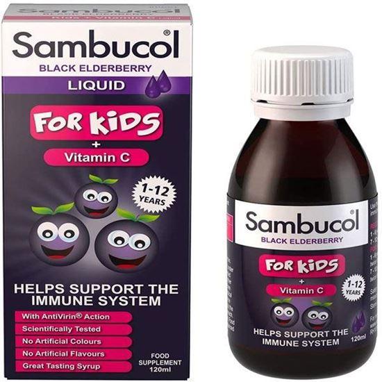 Picture of Sambucol Natural Black Elderberry for Kids 120ml
