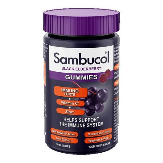Picture of Sambucol Immuno Forte Gummies 30s