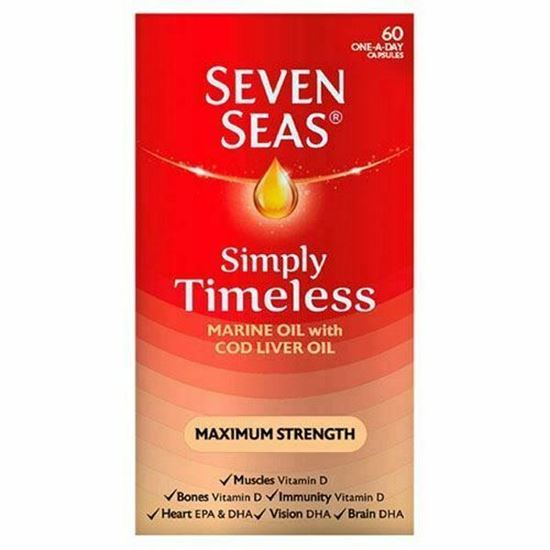 Picture of Seven Seas Evening Primrose Oil Plus Starflower Oil 500mg 60 Capsules