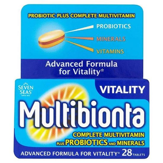Picture of Seven Seas Multibionta Vitality - 28 Tablets