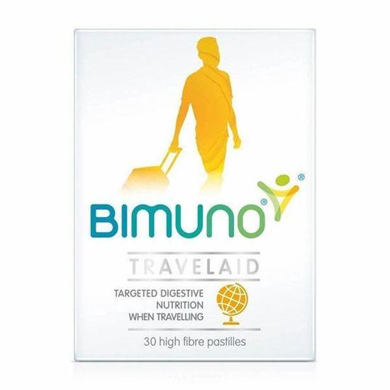Picture of Bimuno Travelaid Chewable Food Supplement - 30 Pastilles