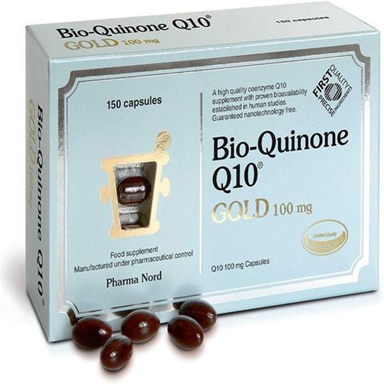 Picture of Pharma Nord Bio-Quinone Q10 Gold 100mg - 150 Capsules