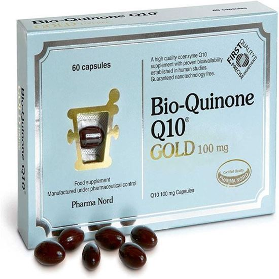 Picture of Bio-Quinone Q10 Gold 100mg 60 Capsules
