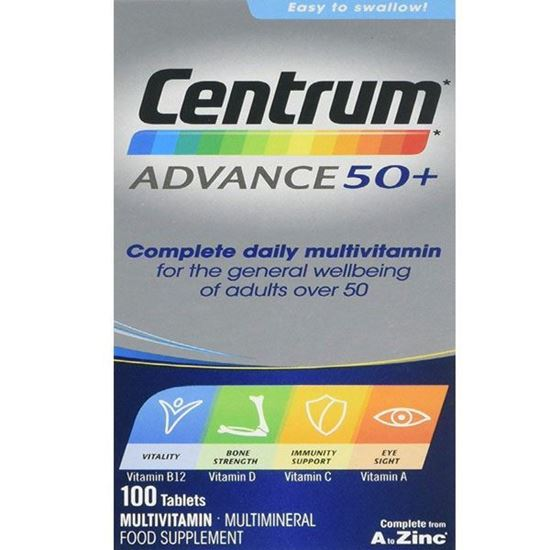 Picture of Centrum advance 50+ multivitamin & multimineral 100 pack