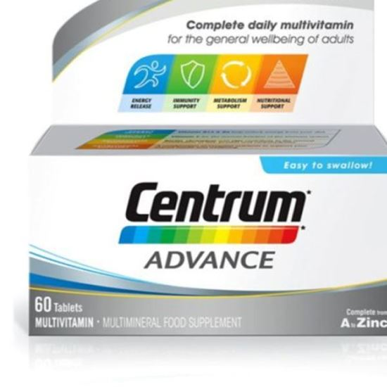 Picture of Centrum Advance Tablets Pack of 60