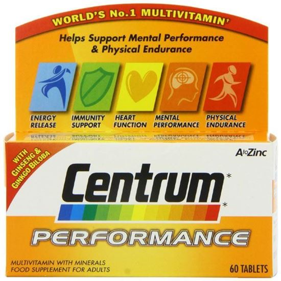 Picture of Centrum performance multivitamin & minerals tablets 60 pack