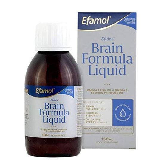 Picture of Efalex Omega 3 +6 Food Supplement Lemon & Lime Flavoured Liquid 150mls