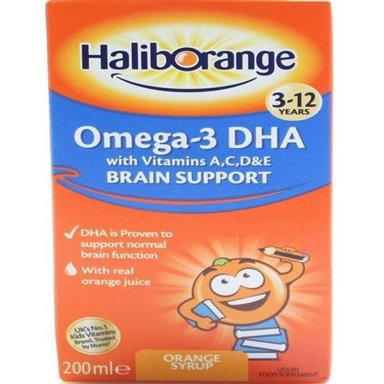 Picture of Haliborange 200ml Orange Omega 3 Syrup