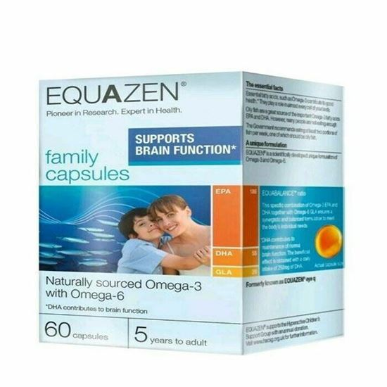 Picture of Equazen Family Capsules | Supports Brain Function | 60 Capsules