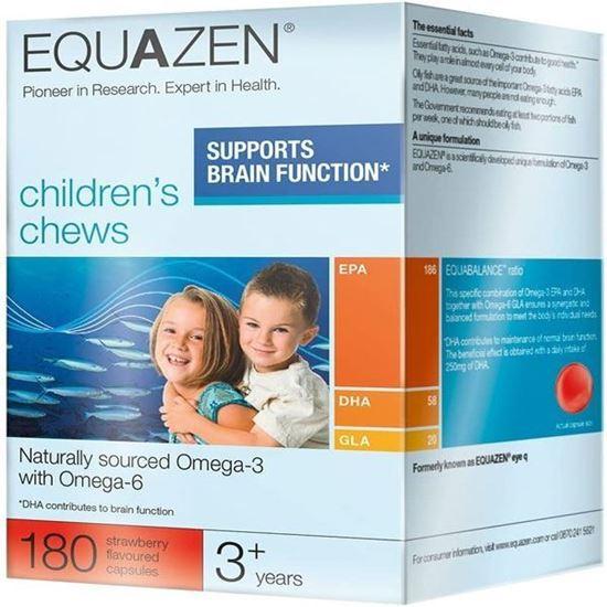 Picture of Three Packs of Equazen Eye Q Chews 180 Capsules