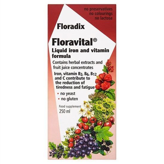 Picture of Floradix Floravital Liquid Iron and Vitamin Formula 250ml
