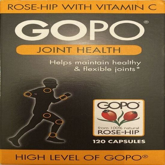 Picture of Gopo Rose Hip Joint Health Vitamin C Capsules - Pack of 120