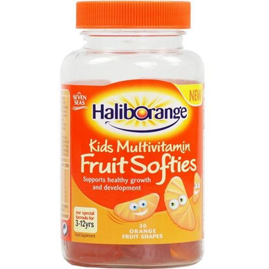 Picture of Haliborange Orange Multivitamin Softies 30 capsule