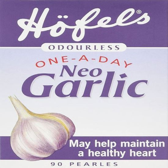 Picture of Hofels Odourless One-A-Day Neo Garlic Supplement - 90 Pearles