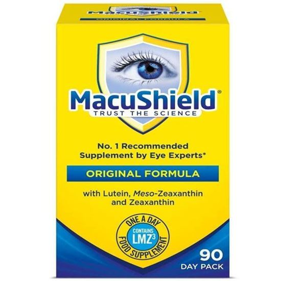 Picture of THREE PACKS of Macushield 90 Capsules