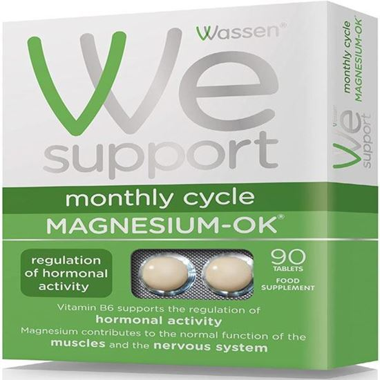 Picture of Magnesium OK Vitamins & Minerals For Women During The Monthly Cycle 90 Tablets
