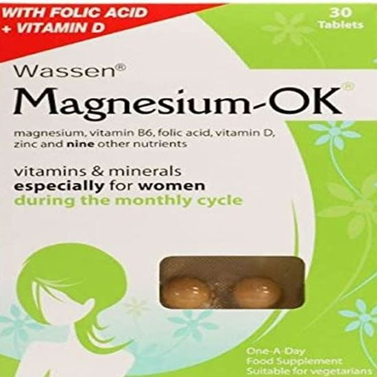 Picture of Magnesium-Ok 30 Tablets