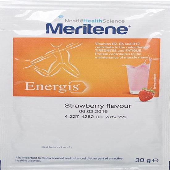 Picture of Nestle 30 g Strawberry Meritene Energis Shake - Pack of 15