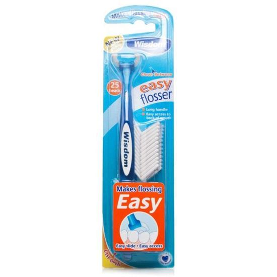 Picture of Wisdom Easy Floss Daily Flosser 25Heads