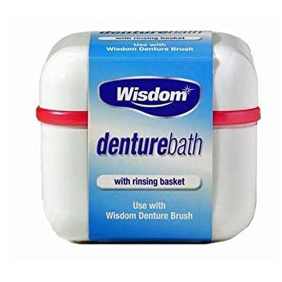 Picture of Wisdom Denture Bath With Rinsing Basket
