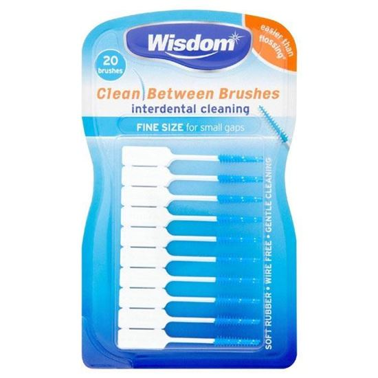 Picture of Wisdom Clean Between Interdental Brushes x 20 Brushes