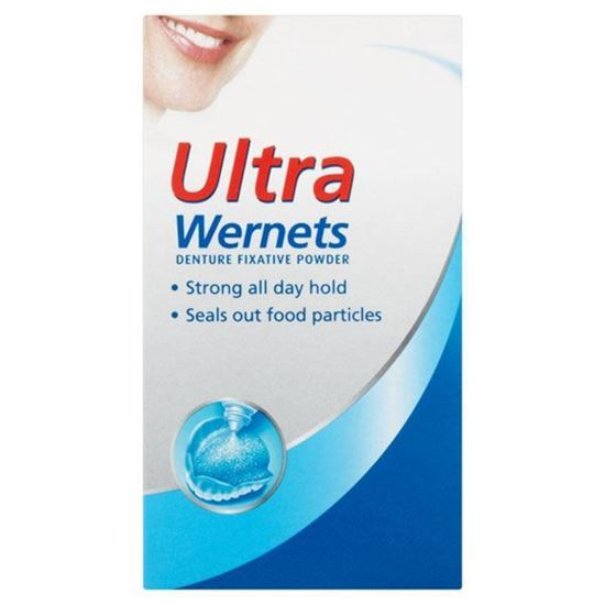 Picture of Wernets Poligrip Ultra Denture Powder 40g