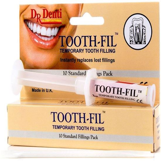 Picture of UK Dr Denti TOOTHFIL ™-Temporary Dental Tooth Repair Filling - Hole Repair Kit