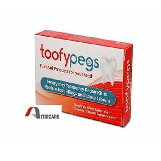 Picture of Toofy Pegs - Crown & Filling Replacement