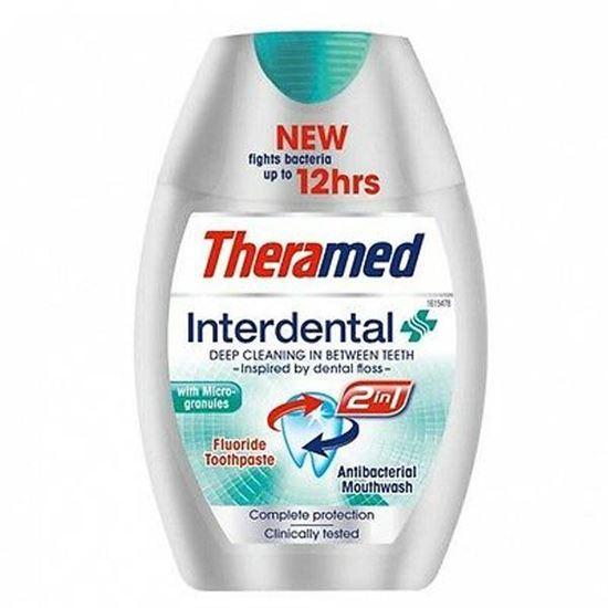 Picture of THERAMED INTERDENTAL 2 IN 1 TOOTHPASTE - 75ML