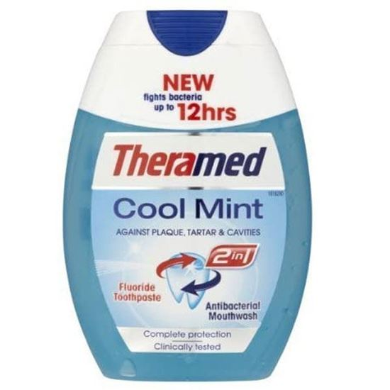 Picture of Theramed 2-in-1 Cool Mint Toothpaste 75ml