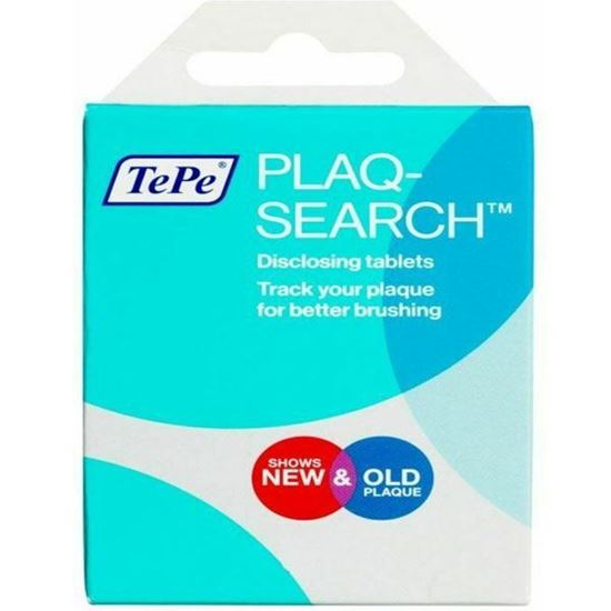 Picture of Plaqsearch Advanced Disclosing Chew Tablets - Pack of 20 Tablets