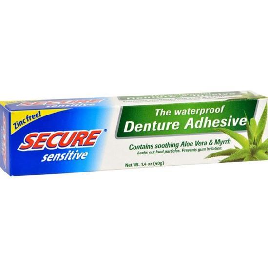 Picture of SECURE DENTURE SENSITIVE ADHESIVE CRM 40g