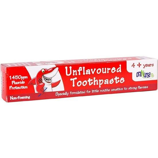 Picture of OraNurse Unflavoured Toothpaste 50ml - 4+ Years by Oranurse