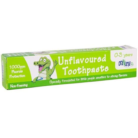 Picture of OraNurse Unflavoured Toothpaste 50ml - 0-3 Years