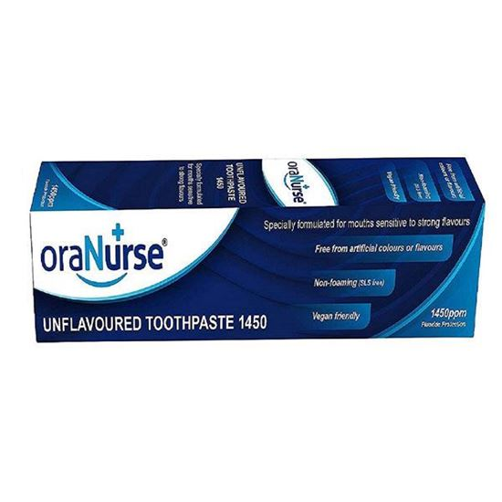 Picture of Oranurse toothpaste unflavoured original 50ml