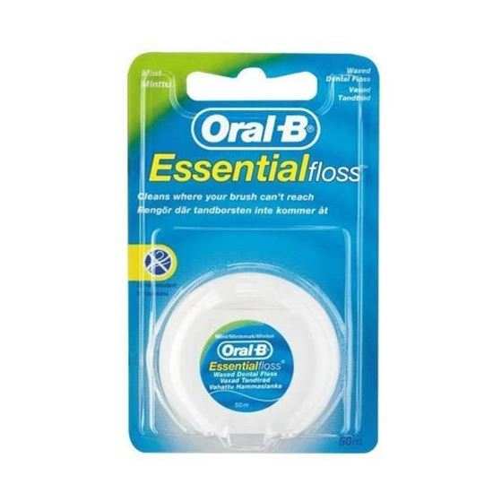 Picture of Oral B Essential Waxed Mint Floss, 50 M