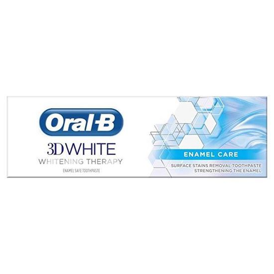 Picture of Oral-B 3D White Whitening Therapy Enamel Care Toothpaste, 75 ml