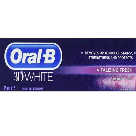 Picture of Oral-B 3D White Vitalize Toothpaste 75 ml