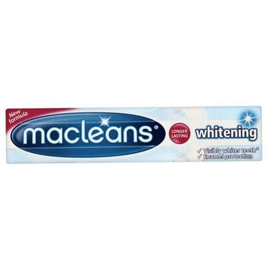 Picture of Macleans Whitening Toothpaste Tube 100ml