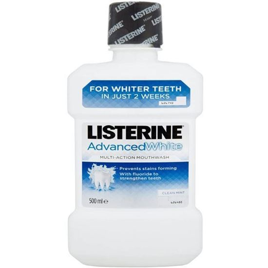 Picture of Listerine Advanced White Mouthwash 500ml