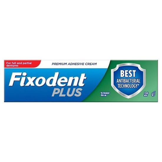 Picture of Fixodent denture adhesive cream dual protection 40g