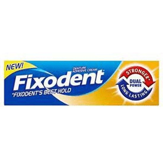 Picture of Fixodent Denture Adhesive Cream Dual Power 40g
