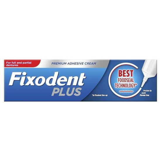 Picture of Fixodent Denture Adhesive Cream - Food Seal 40gm