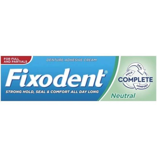 Picture of Fixodent Cream Neutral Flavorless 47g