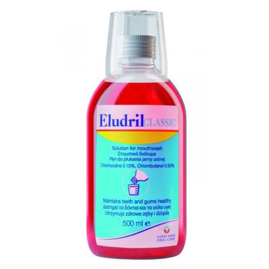 Picture of Eludril Classic Mouthwash 500ml