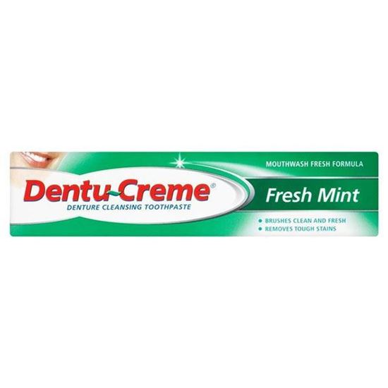 Picture of Dentu-Creme Denture Cleansing Fresh Mint Toothpaste (48ml)